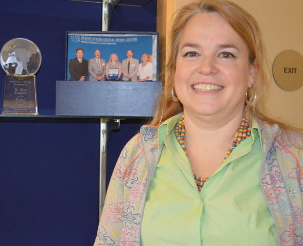 Lisa Dalrymple, director of the Regional School Unit 9 International Student Program at Mt. Blue Campus in Farmington, has worked since 2014 to create partnerships with schools in China and other countries.