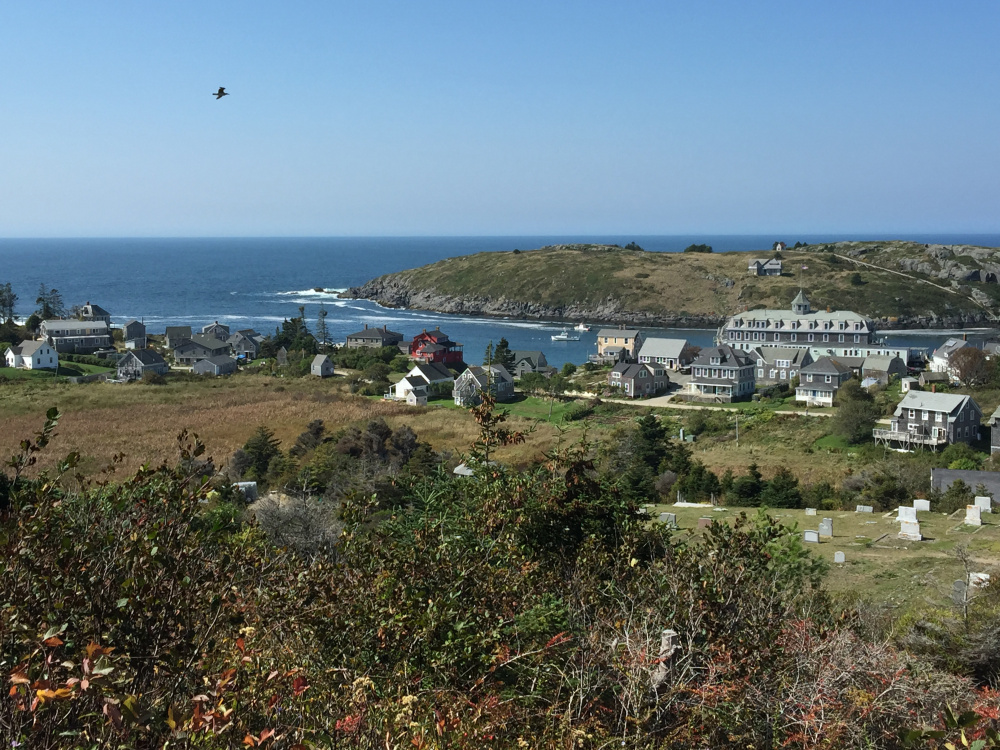 View from Lighthouse Hill.