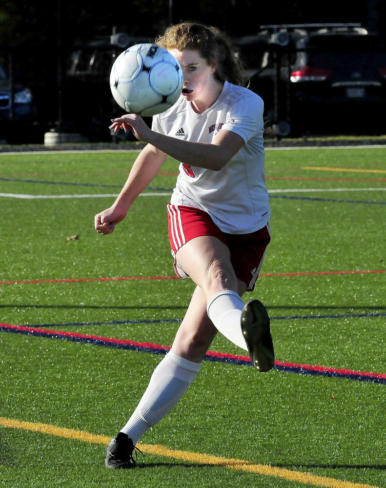 Messalonskee Girls Soccer Finished Off By Edward Little