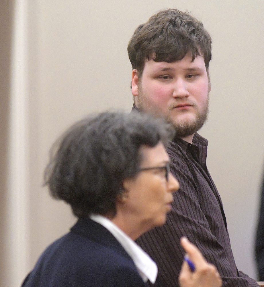 Travis Gerrier, 23, of Belgrade, entered a conditional plea of guilty Aug. 21 at Kennebec County Superior Court in Augusta for sexually assaulting an 11-year-old. He is represented by attorney Sherry Tash.