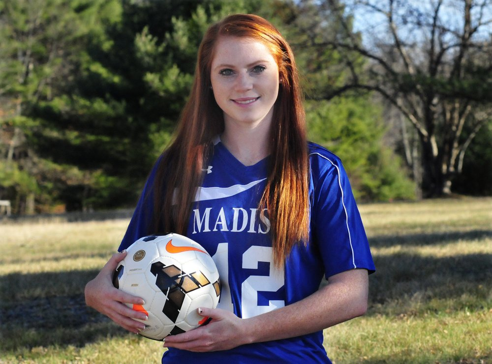 Ashley Emery is the Morning Sentinel Girls Soccer Athlete of the Year.