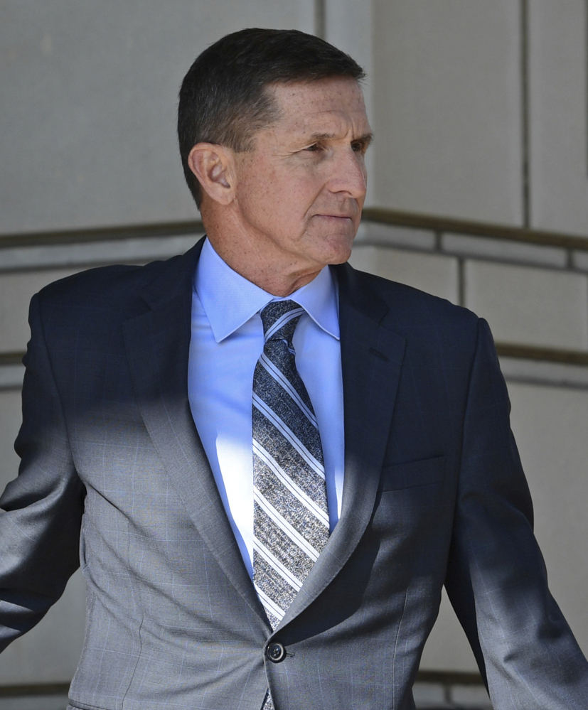 After Flynn's guilty plea, Trump tweeted that he had to fire him