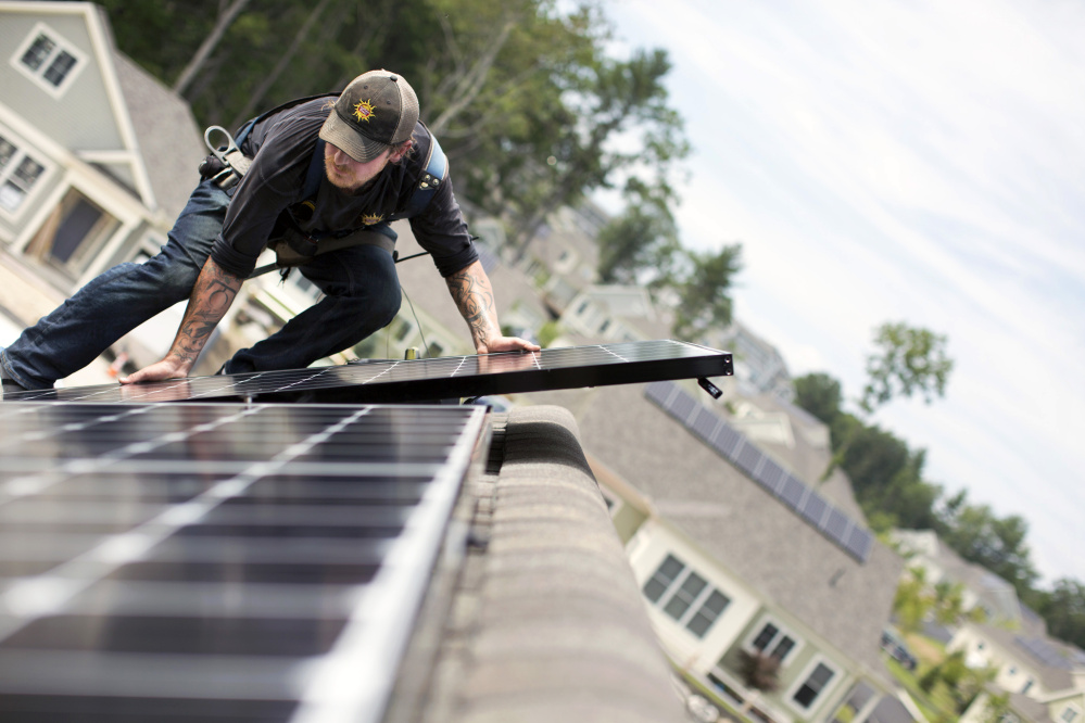 Installers say that retaining the full retail credit on net metering is important to growing solar energy use, but utilities and some lawmakers believe that paying homeowners for the excess power their systems produce shifts costs to customers who don't have rooftop panels.