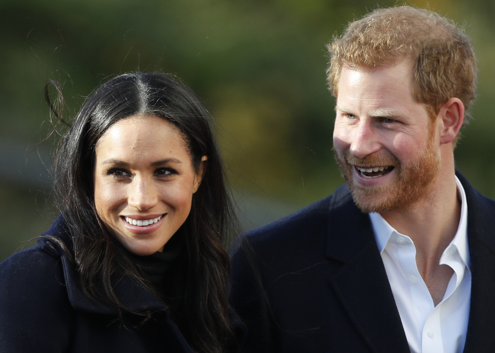 Prince Harry and his fiancee, Meghan Markle, plan to get married in May.