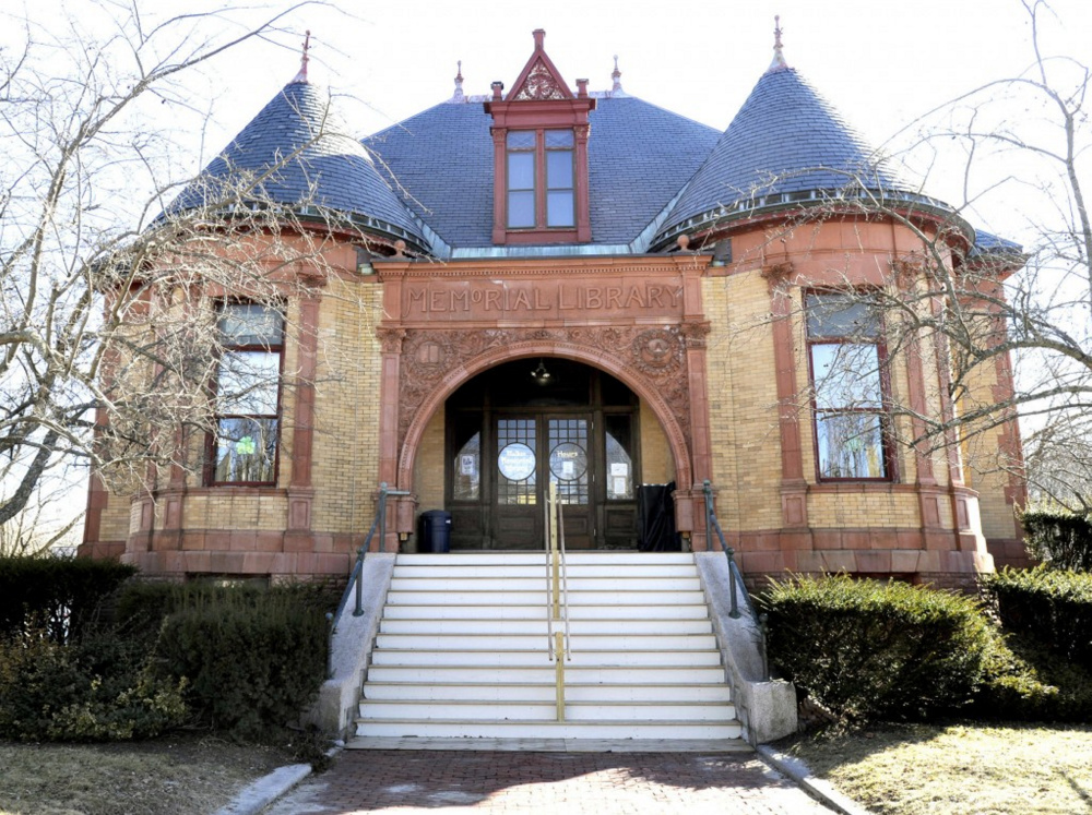 The staff at Walker Memorial Library in Westbrook is hoping to upgrade its video security system to discourage sexually inappropriate behavior, including the viewing of pornography in the public space.