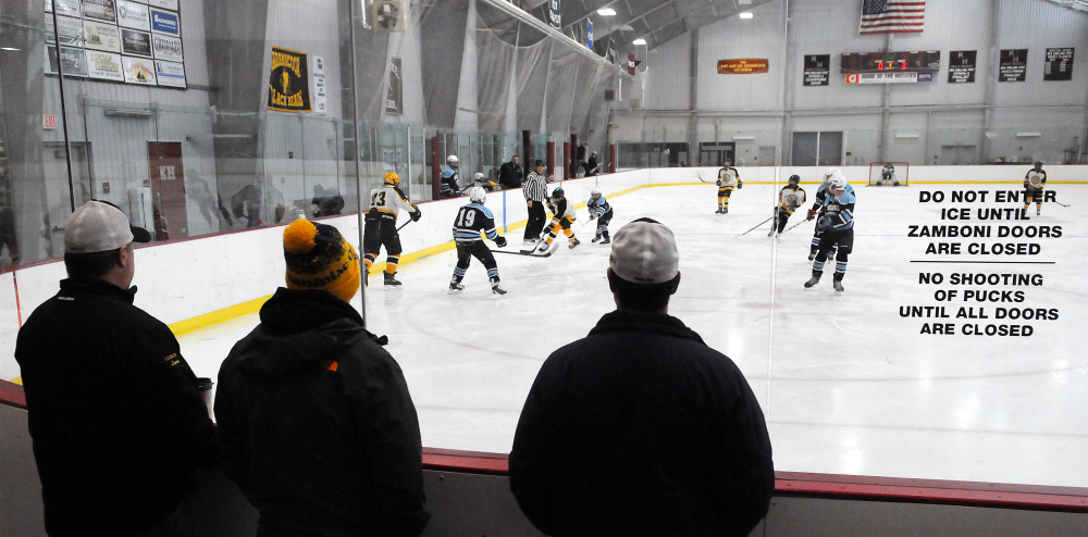 ME H.S.: A Growing Trend - High School Hockey Co-ops Are Rising In Maine