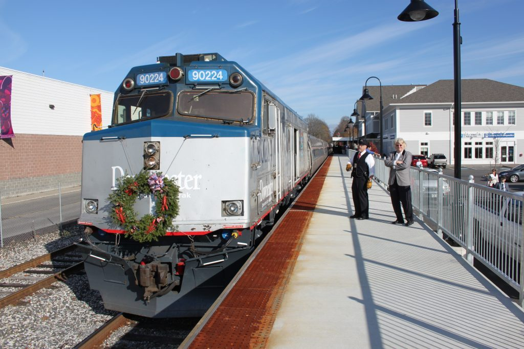 Complaints about noise from Amtrak's Downeaster trains has led Brunswick to investigate the feasibility of a quiet zone. According to a report by Gorrill Palmer, Brunswick could qualify under existing conditions.