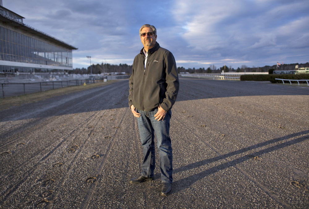 Rocco Risbara III, a member of the locally based group that is under contract to buy the Scarborough Downs racetrack and property, said,