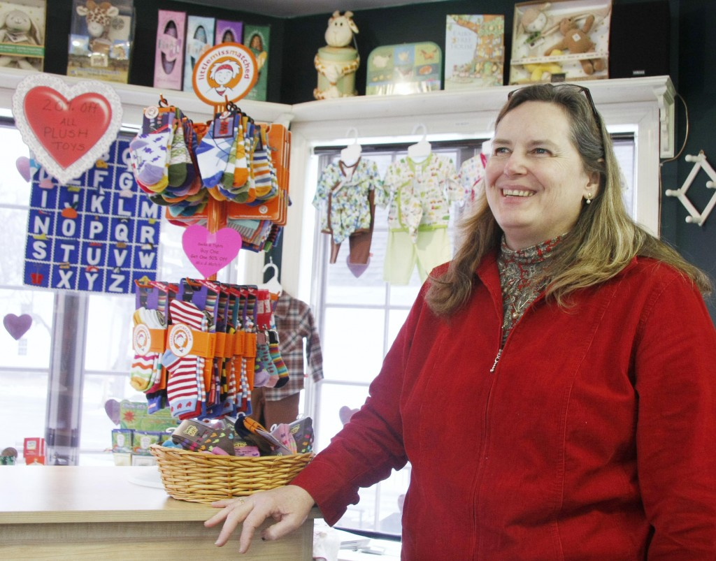 'It could be much more of a pedestrian area,'' says Bonnie Tahan, owner of The Little Red Wagon. ''We get very limited pedestrian traffic here (even though) it's such a quick walk from Dock Square.''