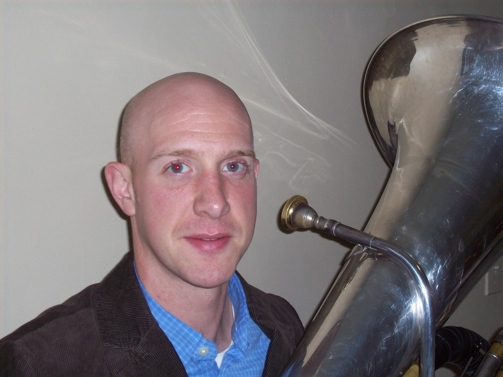 USM faculty member Dan Hunter will give a tuba recital on Friday in Gorham.