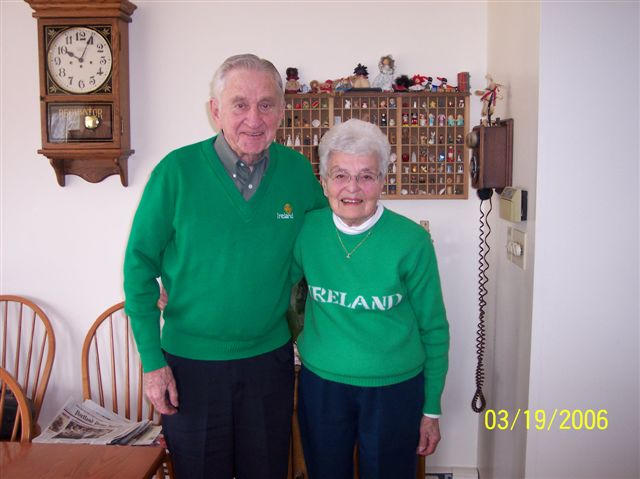 """Martin """"Marty"""" Jennings is pictured with his wife of 31 years, the former Cecile Collet Croteau, in 2006. The center of his life was always family."""