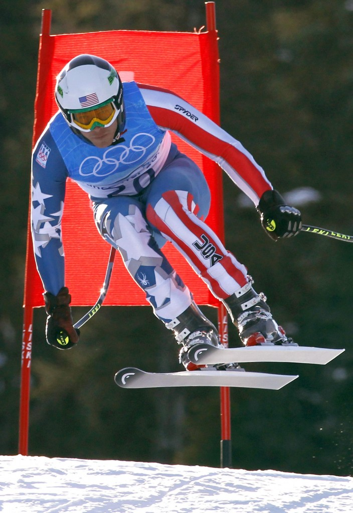 Bode Miller now has an Olympic gold medal to go with three silvers and a bronze and after his victory Sunday in the super-combined. It's his third medal in three races this year, matching an Olympic record.