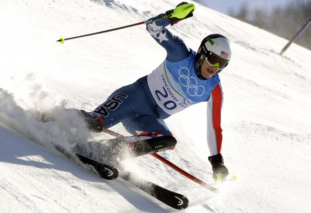 Bode Miller has struggled with his slalom form in recent years, but he rallied from seventh place after the downhill run Sunday, posting the third fastest time in the slalom leg.
