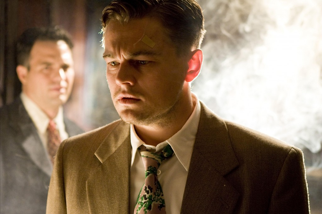 "Leonardo DiCaprio and Mark Ruffalo, rear, in the Martin Scorsese thriller ""Shutter Island."""