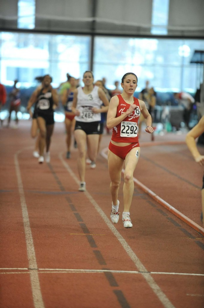 Alli Chamberlain discovered she had a heart defect after taking a physical to join the Keene State track team. Now she's back, and she's running better than ever.
