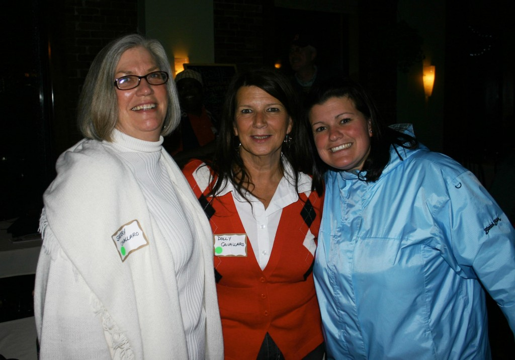 Left: Sherry Cavallaro, Mary Cavallaro and Amy Cavallaro.
