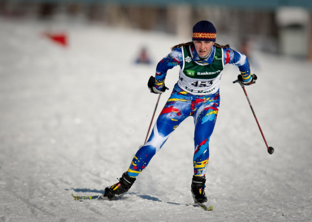 Emily Attwood is the only Maine schoolgirl who has been invited to take part in this year's Junior Olympics, which will be held in Presque Isle.