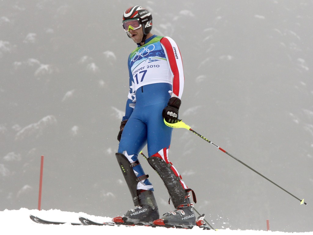 Bode Miller, who attended Carrabassett Valley Academy, was out of his slalom race in 8 seconds, but remains the only U.S. skier with three Alpine medals at a Games.