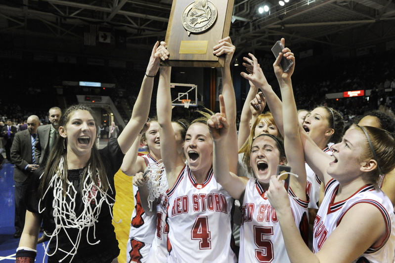 Scarborough is headed to the Class A championship game against Skowhegan after winning its first Western Maine title.
