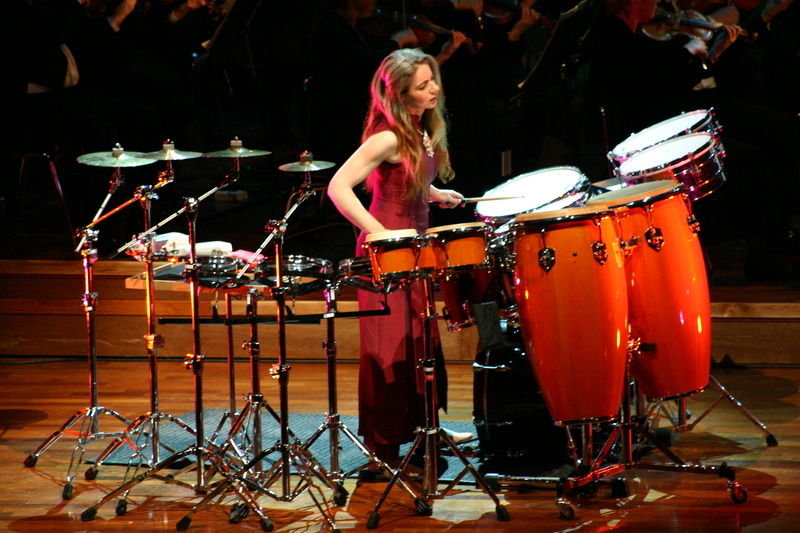 Legendary percussionist Dame Evelyn Glennie will appear as a soloist with the Portland Symphony Orchestra on April 6 in two works, including what is considered to be one of her signature pieces, a Konzertstück by Askell Masson (1982).