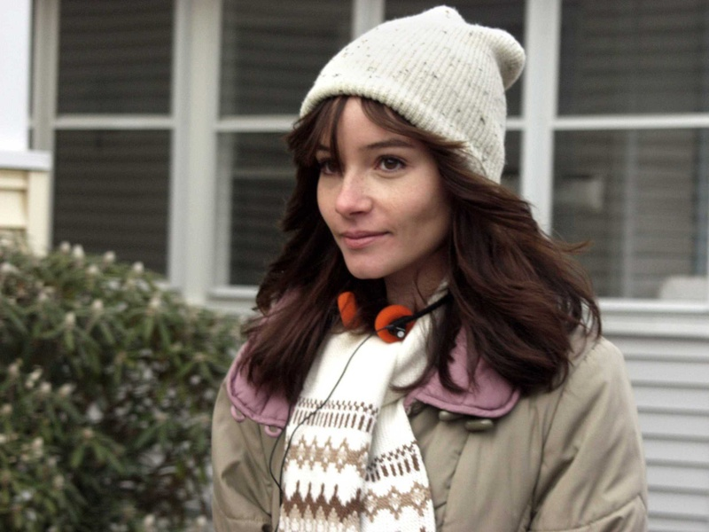 "Jocelin Donahue plays a babysitter in ""The House of The Devil,"" available in DVD. The film earns its writer/director Ti West comparisons to early Alfred Hitchcock and Roman Polanski."