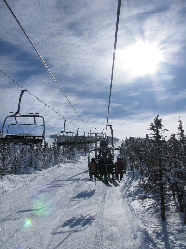 Springtime offers sunshine, softening snow and some really fun events at Maine's mountains.