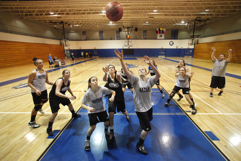They were practicing Monday after winning their conference tournament title on Saturday, but the University of New England women will be playing in the NCAA Division III tournament on Friday, facing Western Connecticut State at 5 p.m. at Bowdoin College.