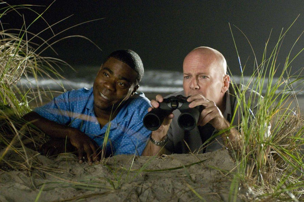 "Tracy Morgan and Bruce Willis buddy up in ""Cop Out."""