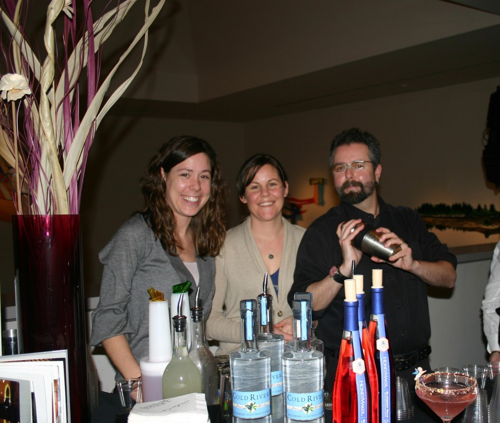 The Grace Team included Kate Tozier, Anne Verrill and Barry McEvoy of Grace. Partygoers sampled 15 drink creations.
