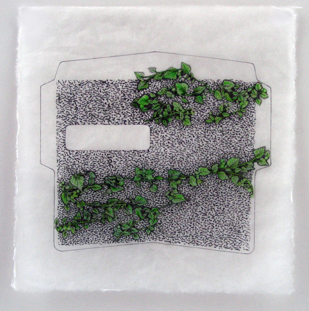 """Security Pattern with Nettles"" by Judith Allen-Efstathiou"