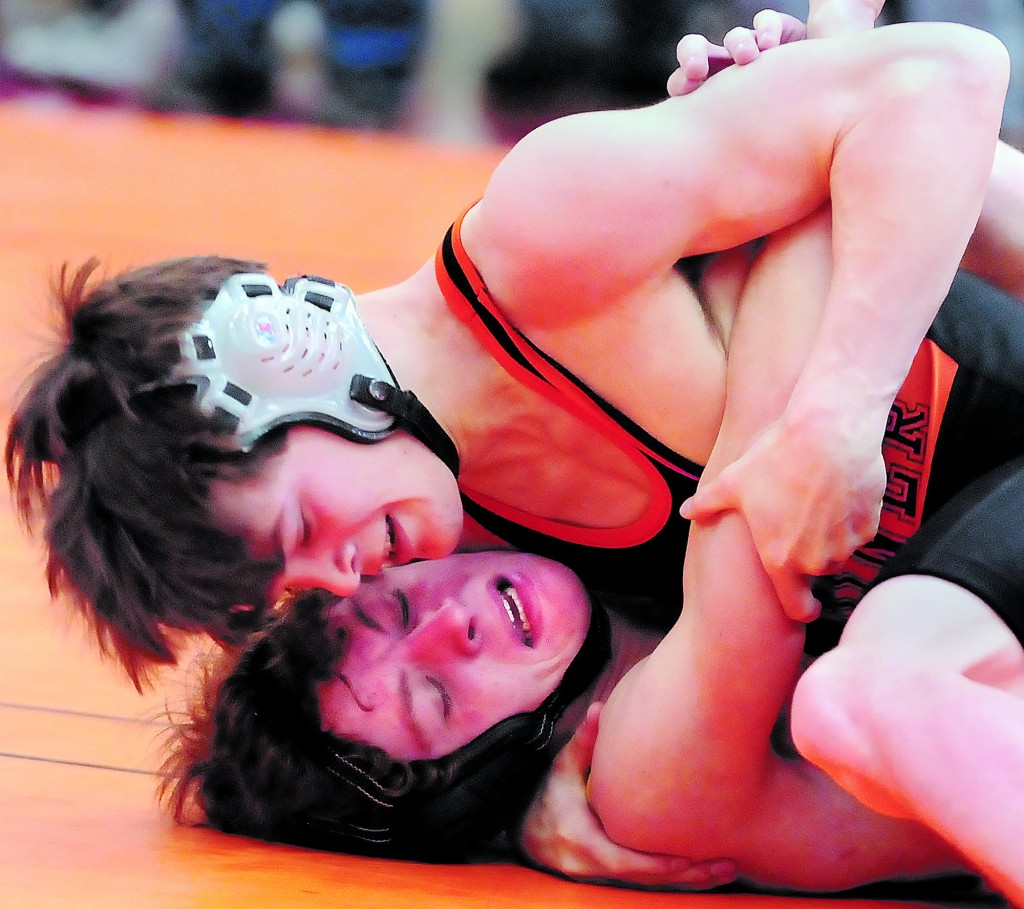 Matt DelGallo set a school record with 165 victories in his four years at Gardiner, including Class B state championships as a freshman and senior and Class A titles as a sophomore and junior.