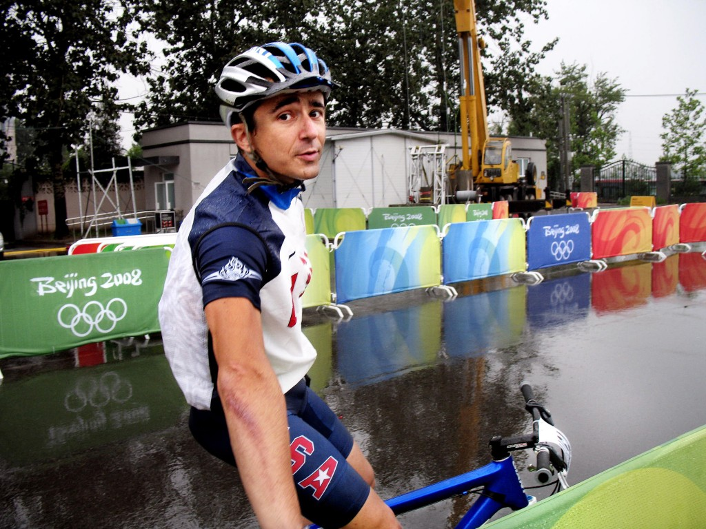 Adam Craig may have made it to the Olympics with deft mountain biking, but he suffered a serious knee injury when he slipped on ice. He will miss half of the World Cup season.