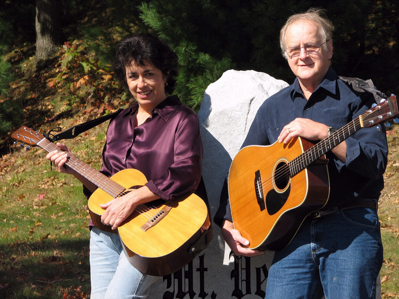Maine Folk singers Renee Goodwin, left, of Augusta, and Bob Simons of Georgetown will perform a free concert at 6:30 p.m. Thursday at Lithgow Public Library, 45 Winthrop St, Augusta. For details, call 626-2415.