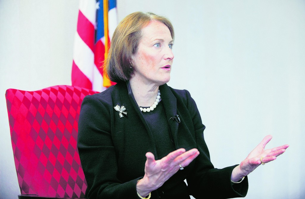 """Karen Mills, administrator, Small Business Administration: """"There's a big gap in access to credit for small firms now, and it's a huge problem."""""""