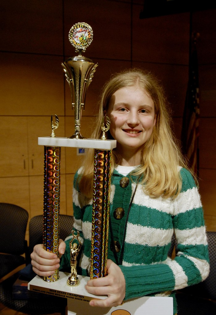 Maine State Spelling Bee w