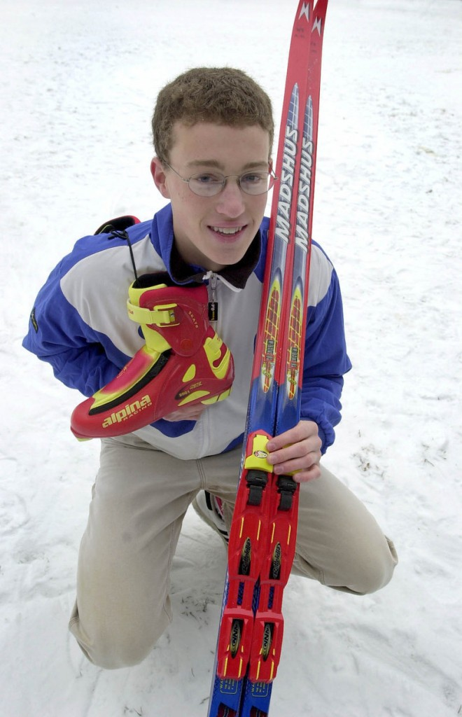 Walt Shepard knew as a Yarmouth High senior that he wanted to take his biathlon career as far as he could. And that became pretty far.