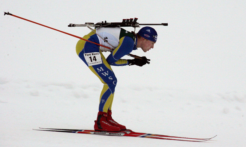 Walt Shepard won three silver medals at the national biathlon championships last weekend in Fort Kent, bringing his final national and international haul to 32 medals.
