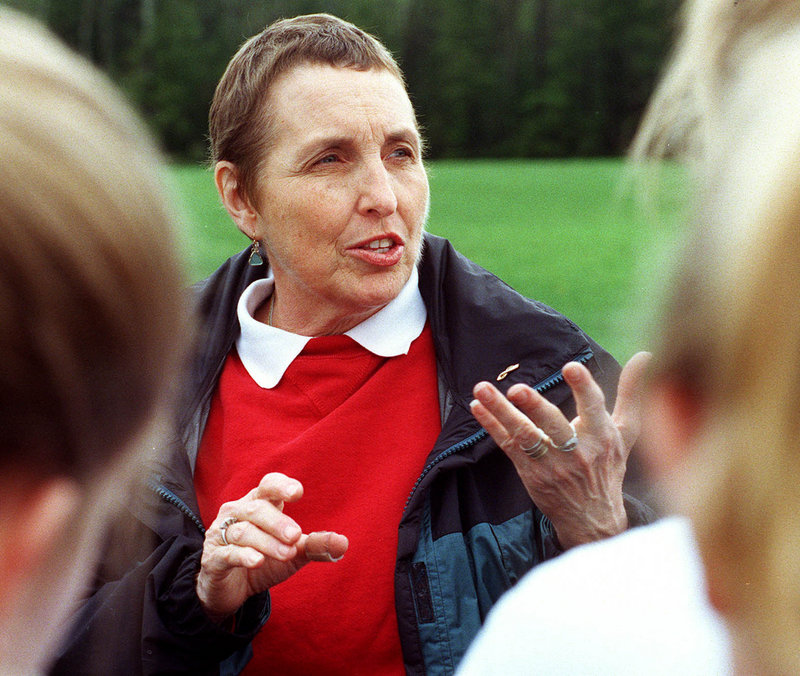 Flossie Smith never lost her grace and humor while continuing to coach despite fighting breast cancer.