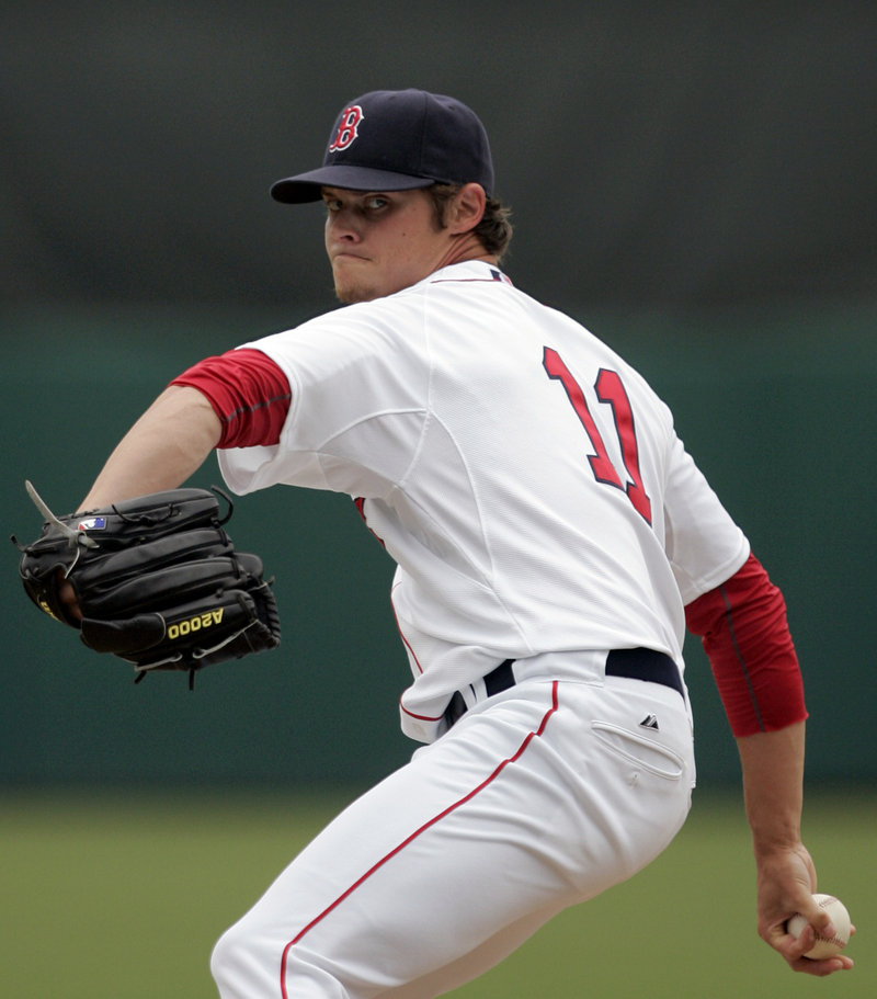 Clay Buchholz gave up four runs in the first two innings Sunday but didn't allow a hit over his final 2 2⁄3 innings in Boston's 11-5 win over the Minnesota Twins.
