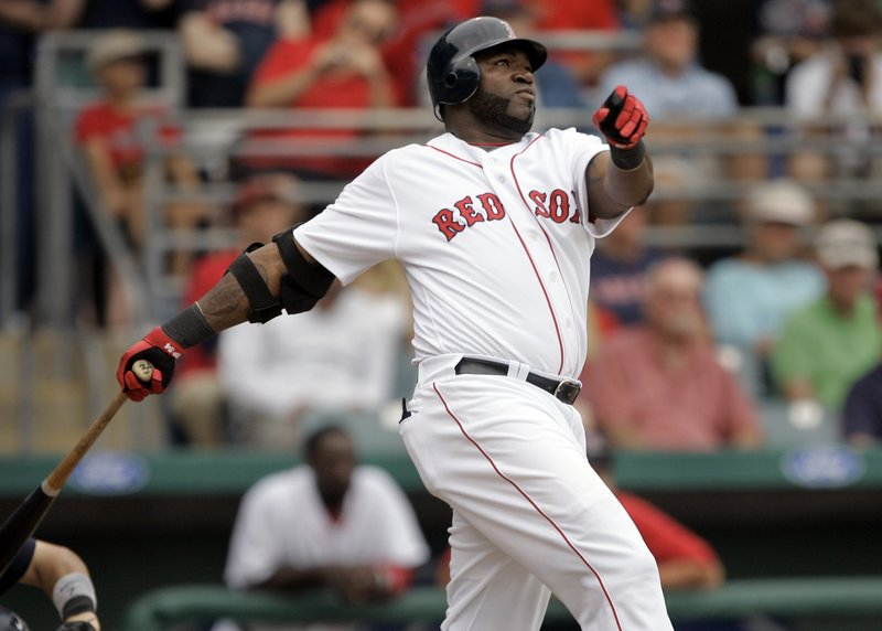 The Red Sox are hoping for more production this season from David Ortiz to help make up for the loss of Jason Bay.