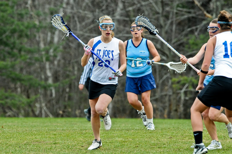 Lauren Hagerman, a standout at Scarborough High, heads a group of five seniors with the St. Joseph's women's lacrosse program since its start three years ago.