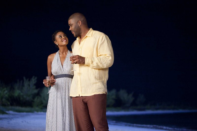 Sharon Leal and Tyler Perry in