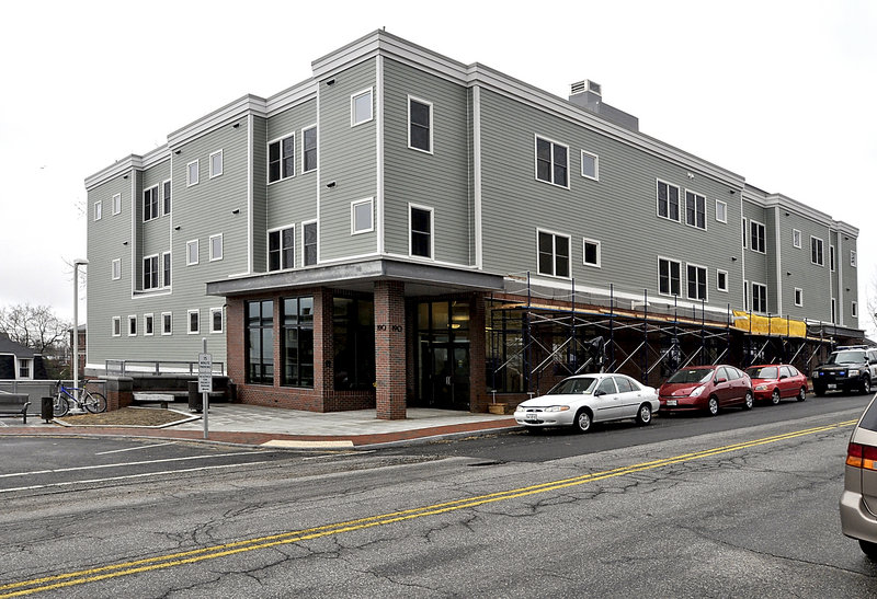 Florence House on Valley Street in Portland, a $7.9 million haven for homeless women that has been five years in the making, will open to its first residents Tuesday. Forty women will move into the home this week.