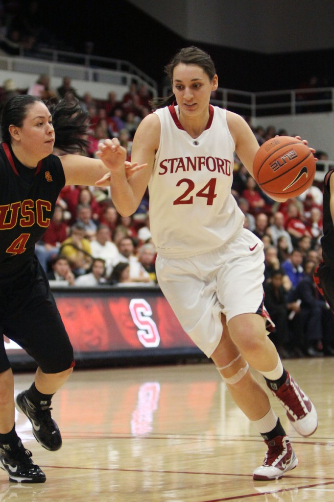 Ashley Cimino has been ready whenever Stanford has needed her, and now she's in the Final Four for the third straight season.