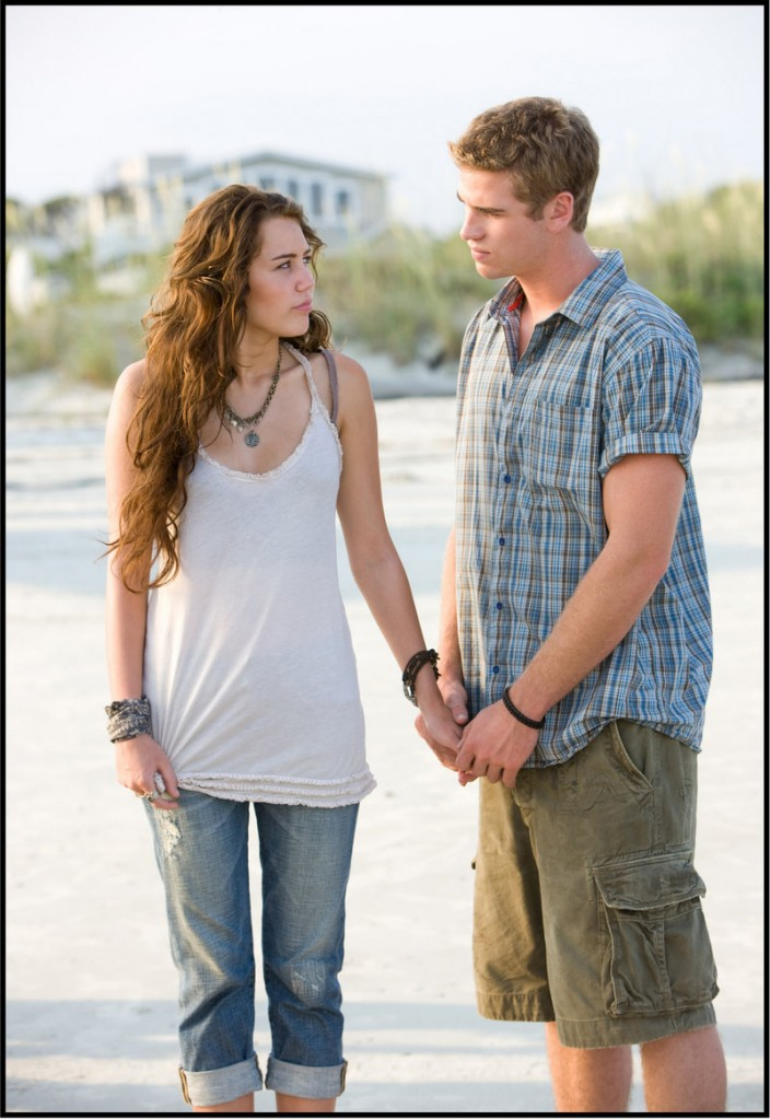"Miley Cyrus and Liam Hemsworth star in ""The Last Song,"" which just opened locally."