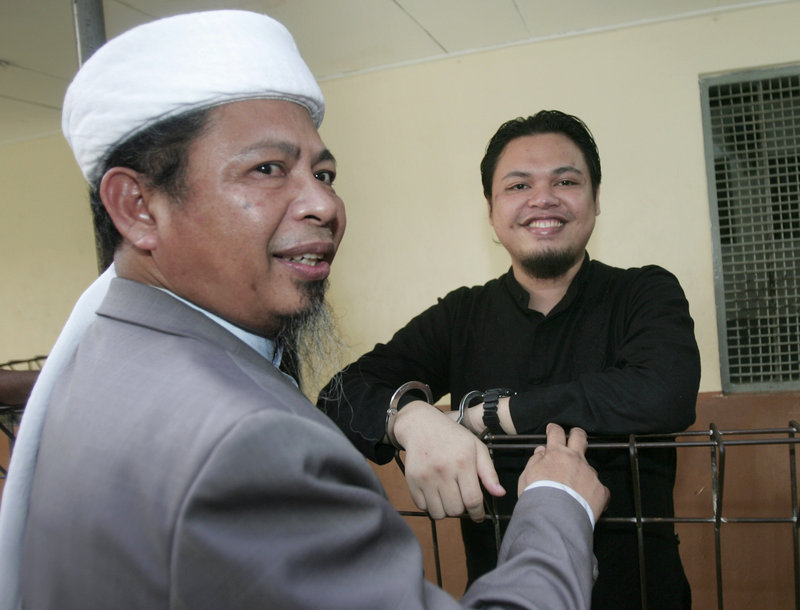 Transcripts of chat sessions allegedly involving Muhammad Jibriel – seen with his father recently at his trial on charges of helping fund suicide bombings – reveal Indonesian militant ties to al-Qaida operatives in Pakistan.