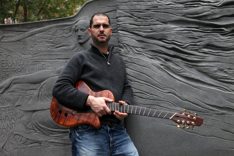 Jazz guitarist Charlie Hunter and his trio perform Tuesday at Asylum in Portland.