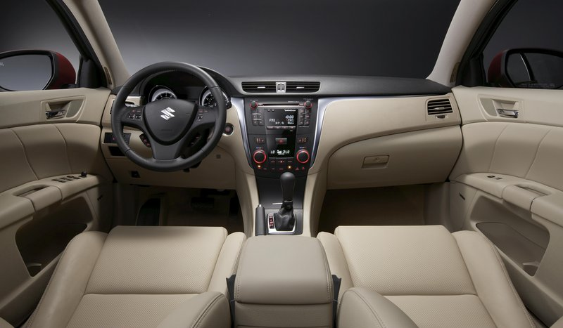 The Kizashi's interior fit and finish is remarkable, given its starting price.