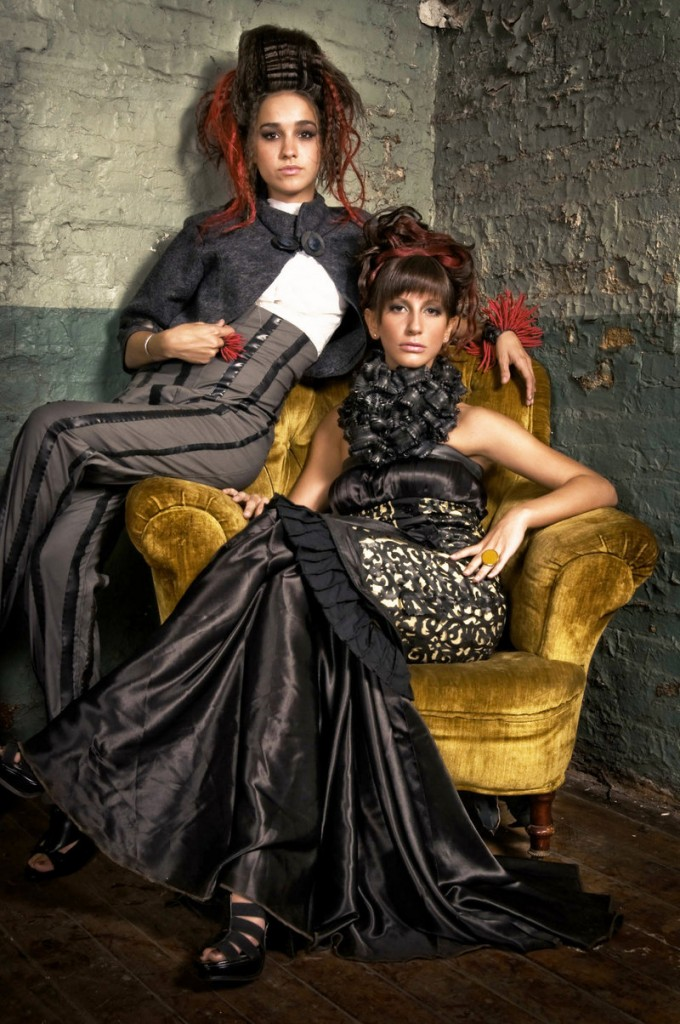 Two pieces from designer D.S. Bullock, who creates under the Road Rash Rubber label, will be among those on the catwalk during the WMPG Fashion Show Saturday night.