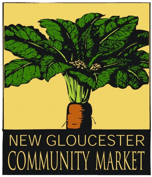 The Community Market has a logo ready to go.